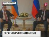 В Петербурге прошла встреча глав России, Армении и Азербайджана