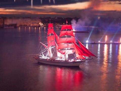 Алые паруса и галиот «Секрет» станут музейными экспонатами