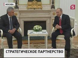 Владимир Путин встретился в Москве с президентом Абхазии