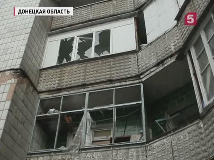 Киевские силовики заминувшие сутки снова нарушали Минские договорённости