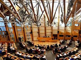Решение ореферендуме онезависимости шотландский парламент может принять доконца марта
