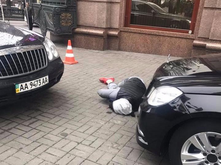 Фото убитого вКиеве беглого депутата Вороненкова