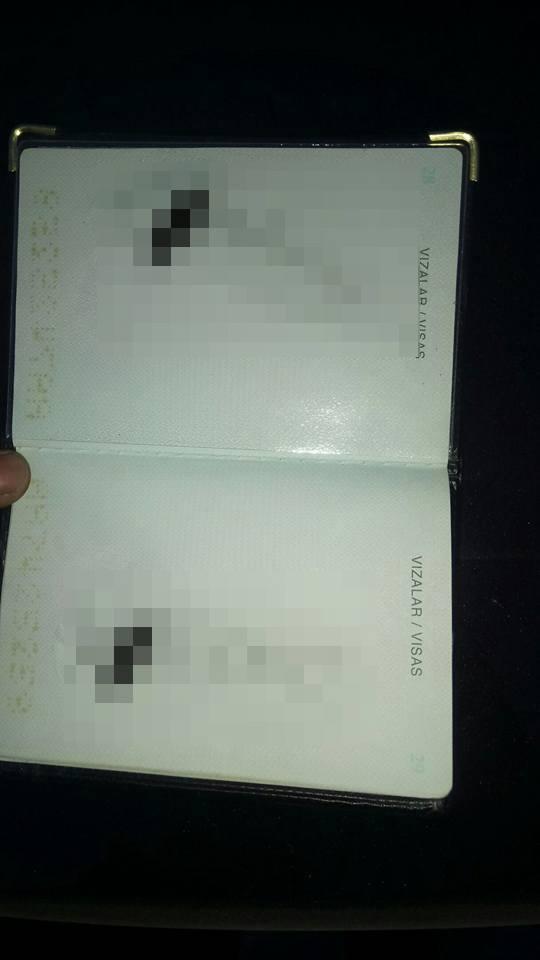 Полицейские Петербурга исписали ругательствами паспорт ...