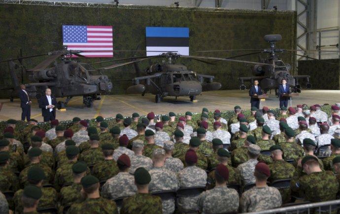 Войска НАТО приступили кслужбе вЭстонии