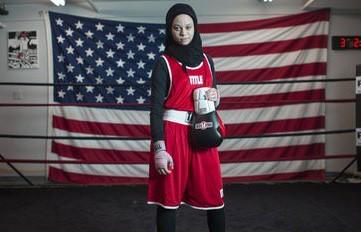 ВСША 16-летней мусульманке-боксерше разрешили выйти наринг вхиджабе ФОТО