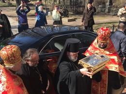 Мощи преподобномученицы Великой княгини Елизаветы Фёдоровны привезли вПетербург