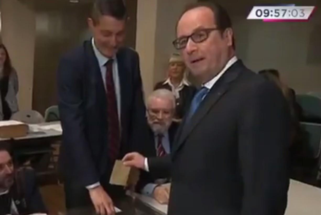 Франсуа Олланд сделал свой выбор ВИДЕО