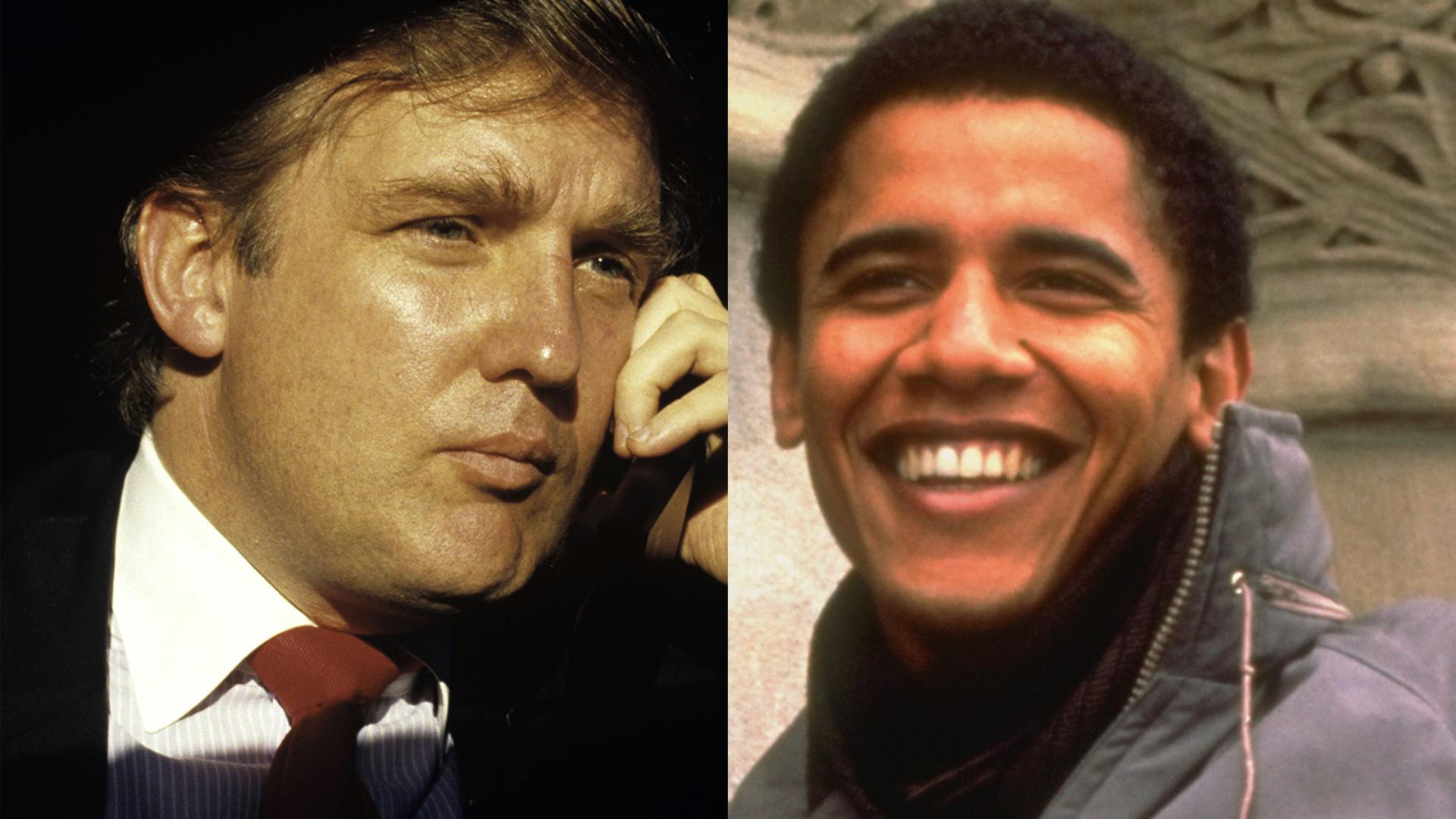Обама вюности писал оТрампе как об«американской мечте»