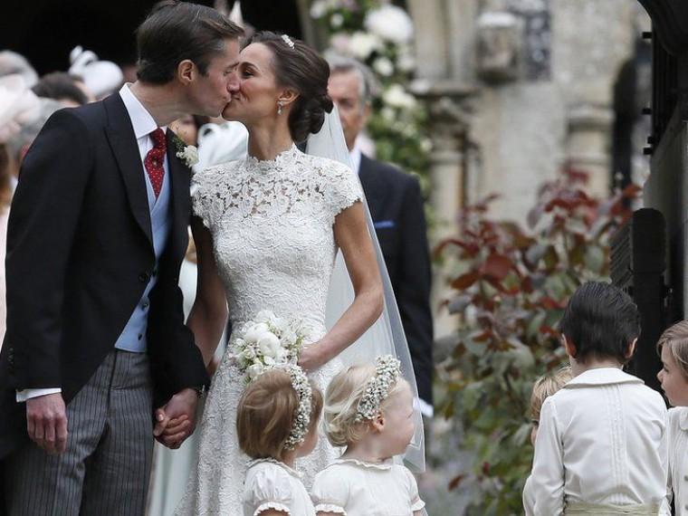Супер-свадьба 2017: младшая сестра герцогини Кембриджской Пиппа Миддлтон вышла замуж