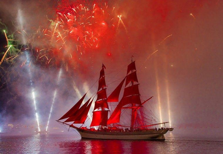 История кораблей праздника «Алые паруса»— с1968 года идонаших дней