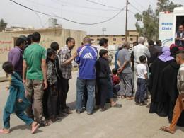 Полиция Ирака запретила женщинам носить никаб восвобожденной части Мосула