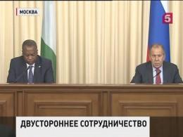 Сергей Лавров провел переговоры сглавой МИД Нигерии