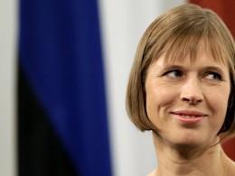 Президент Керсти Кальюлайд объяснила появление вЭстониифашистов «российской пропагандой»