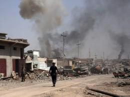 Виракском Мосуле террорист-смертник устроил взрыв