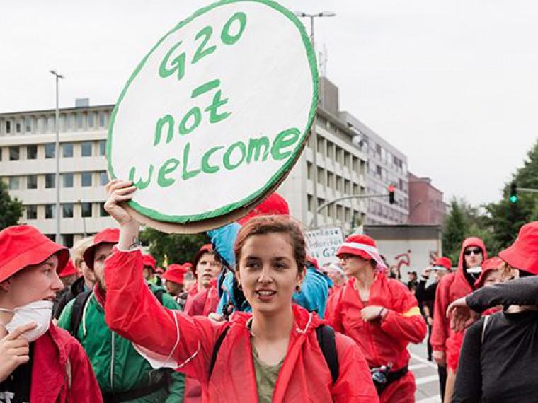 Лидеры G20 собрались напервую встречу вГамбурге