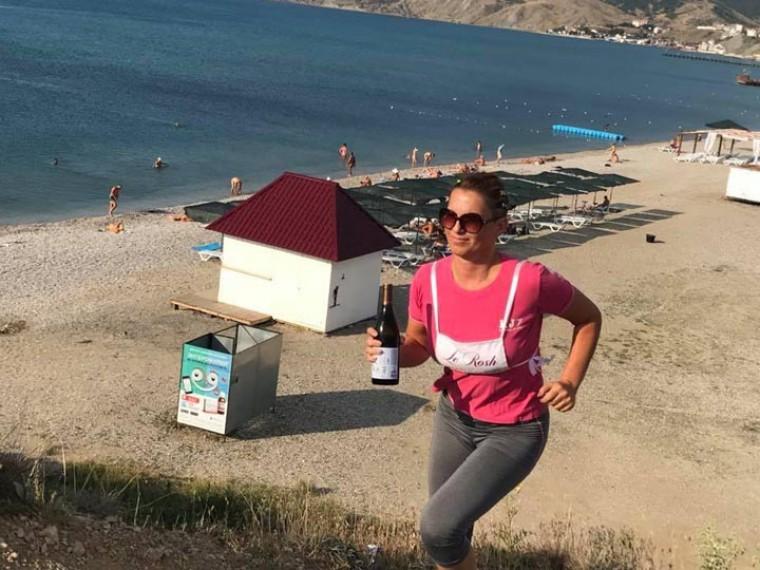 «Необыкновенный кросс»: вКоктебеле прошла винная эстафета