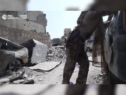 Всети появилось видео обстрела вМосуле, прикотором пострадала журналистка агентства Sputnik