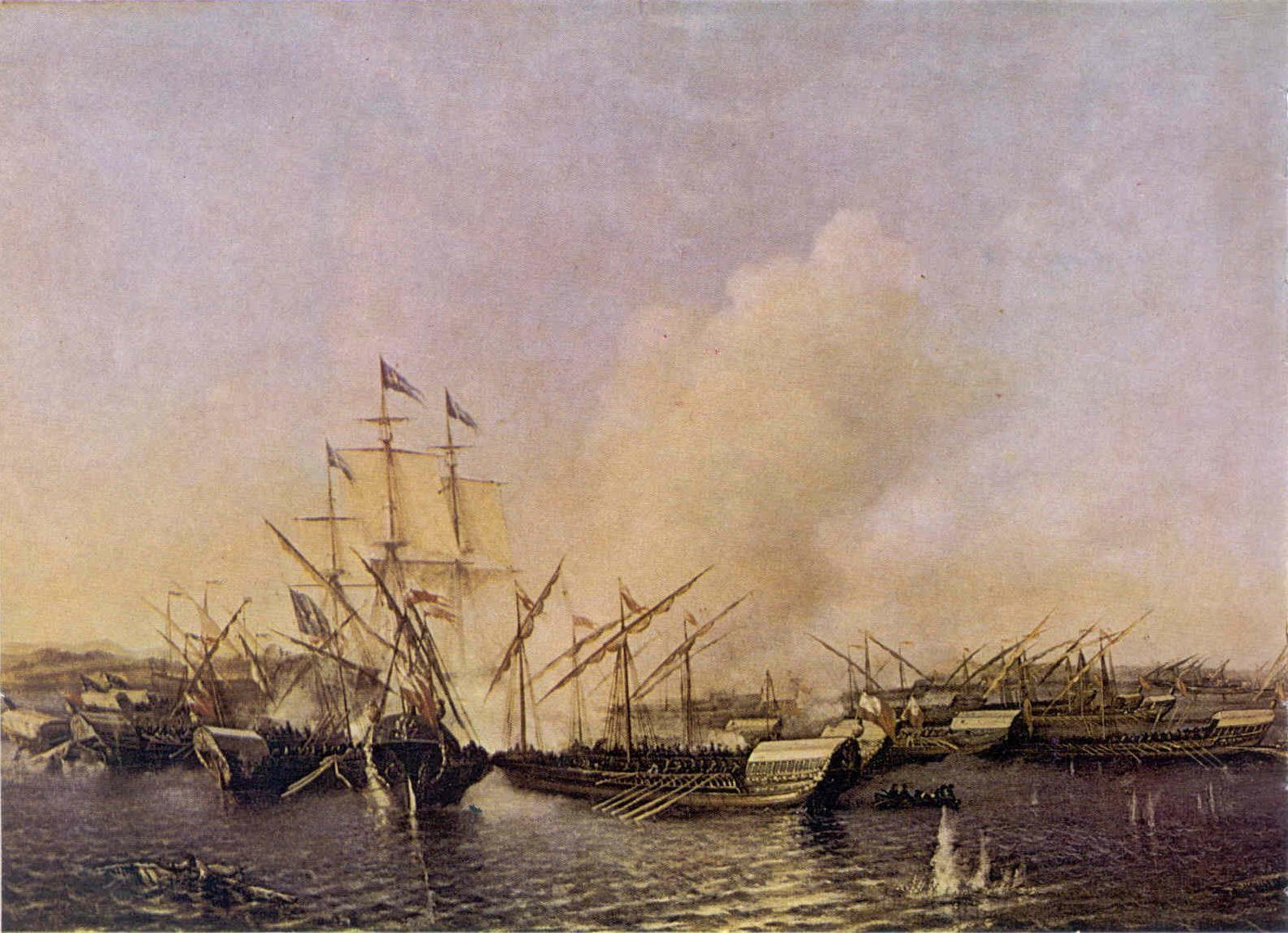 Прорубил окно вЕвропу: 306 лет содня первой морской победы Петра I