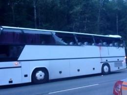 Встрашном ДТП натрассе А-101 «Москва–Рославль» погиб пассажир автобуса