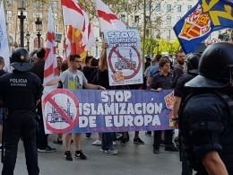 ВБарселоне начались антиисламские выступления