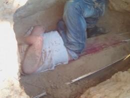 ВКургане неизвестные выкопали измогилы умершую5 лет назад девушку исожгли