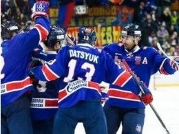 Петербургский СКА вдомашнем матче обыграл финский «Йокерит»