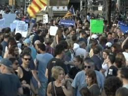 Митинг против терроризма проходит вБарселоне— прямая трансляция