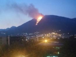 Заблудившийся поляк хотел подать сигнал опомощи исжёг половину черногорского леса