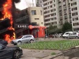 Пожар уничтожил столичное кафе «Великолепный век»