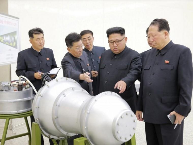 Заряд корейской водородной бомбы готов кзапуску всторону США