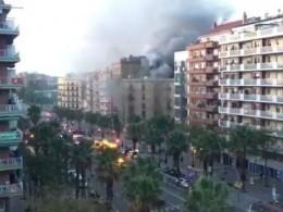 Взрыв газа вБарселоне: 21 человек ранен, один вкритическом состоянии