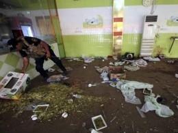 Взрыв вшколе под Мосулом: среди погибших женщины идети