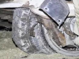 Первые кадры сместа ДТП свахтовиками вКарачаево-Черкесии