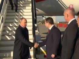 Владимир Путин прибыл срабочим визитом вУльяновск