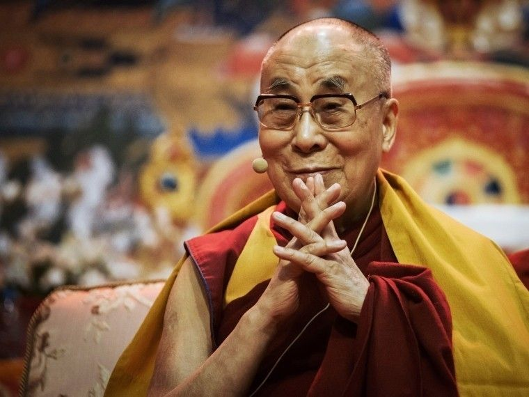 Далай-лама раскрылсекрет человеческого счастья