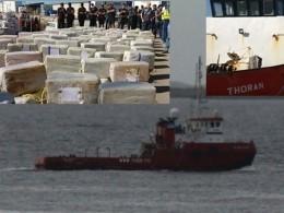 Испанские правоохранители задержали судно спочти 4 тоннами кокаина