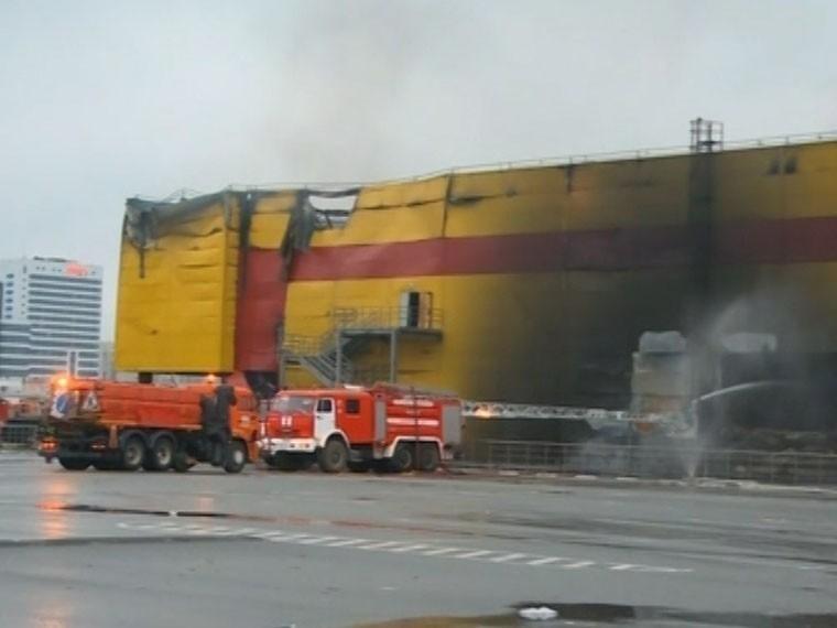 После пожара нарынке «Синдика» вМоскве пропали шесть человек