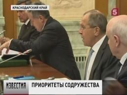 Взаимодействие врамках СНГ остается главным приоритетом внешней политики России
