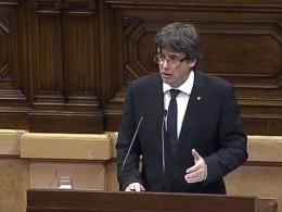 Глава Каталонии призвал отложить декларацию онезависимости иначать переговоры сМадридом