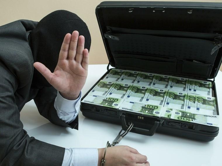 Предполагаемого похитителя300миллионов рублей доставилисКипра вРоссию