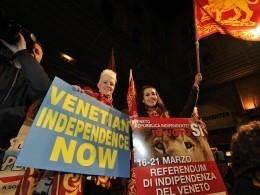 Витальянском Венето прошел референдум посамоопределению