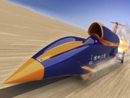 ВБритании появился сверхзвуковой автомобиль