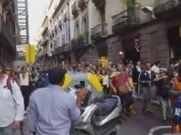 Люди вышли намитинги вподдержку независимой Каталонии