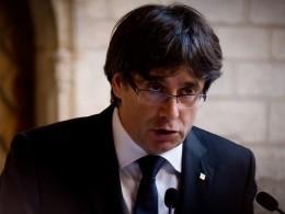 Глава каталонского правительства Карлес Пучдемон выступил софициальным заявлением