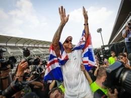 Мечты сбываются, или как пилот «Формулы-1» отпраздновал свой четвертый чемпионский титул