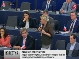 Марин ЛеПен лишили депутатской неприкосновенности ивызвали всуд