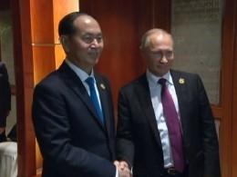 Президент Вьетнама поблагодарил Путина заучастие всаммите АТЭС
