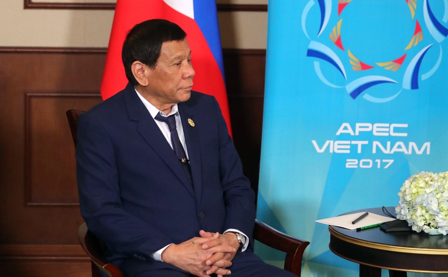 Насаммите АТЭС президент Филиппин Дутерте признался вубийстве