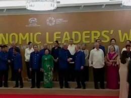 Президенты России иСША обменялись рукопожатием насаммите АТЭС