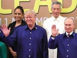 СМИ стало известно, когда состоится встреча Путина иТрампа вДананге
